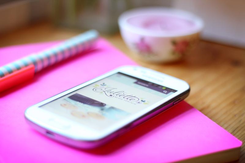 Design responsive Juliette blog féminin