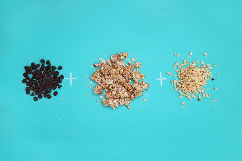 Ingrédients pour un granola maison chocolat noisette - Juliette blog féminin