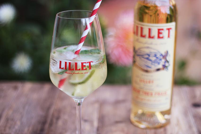 Cocktail Lillet blanc et plantes aromatiques - Juliette blog féminin