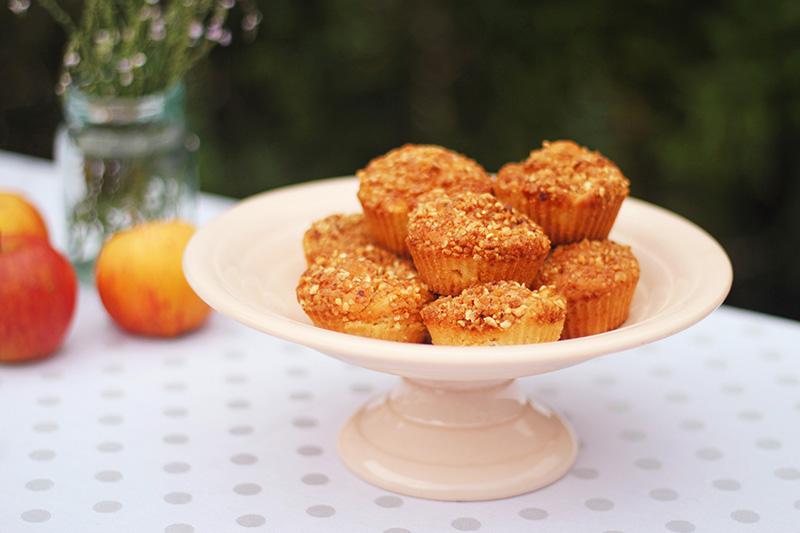 Muffins aux pommes et pralin - Juliette blog féminin
