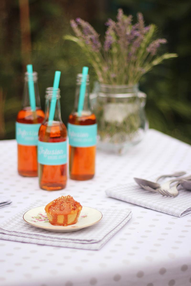 Muffins pomme pralin caramel au beurre salé - Juliette blog féminin 7