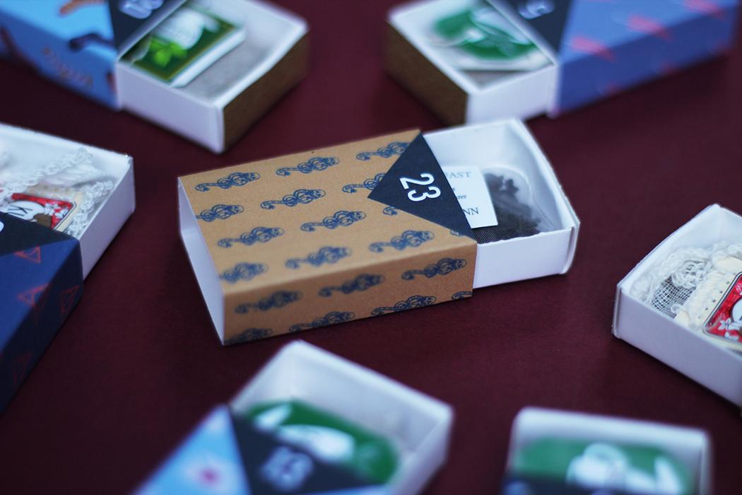 Calendrier de l'avent sachets de thé - Juliette blog féminin