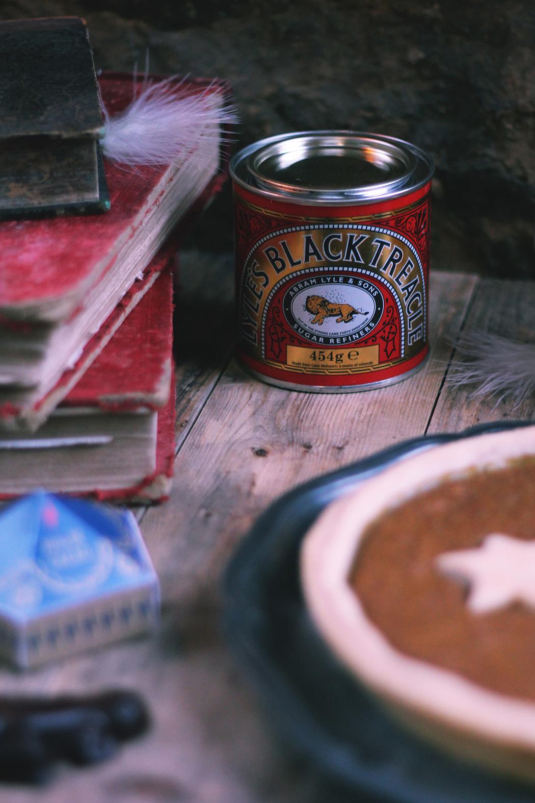 Tarte à la mélasse Harry Potter - treacle tart -Juliette blog féminin
