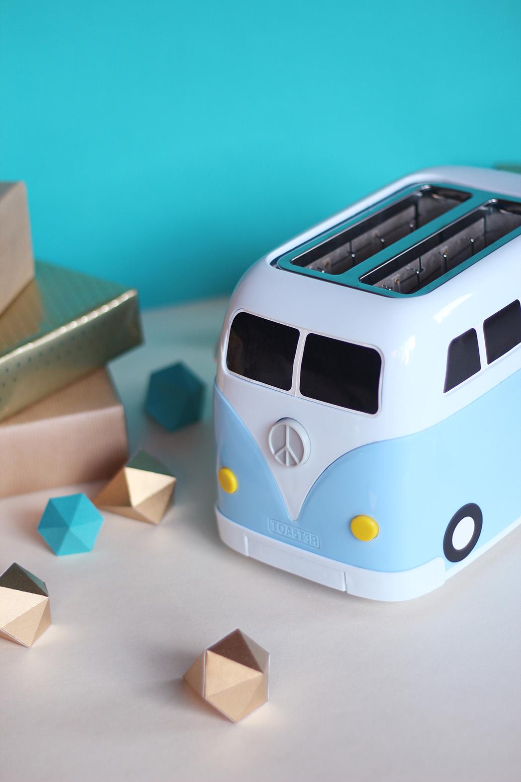 Grille pain vintage camping car - Cadeau de Noël - Juliette blog féminin