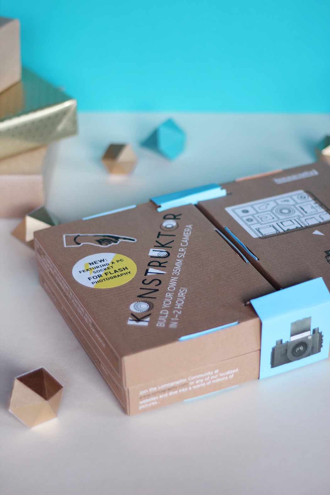 Appareil photo DIY Konstruktor de Lomography - Cadeau de Noël - Juliette blog féminin
