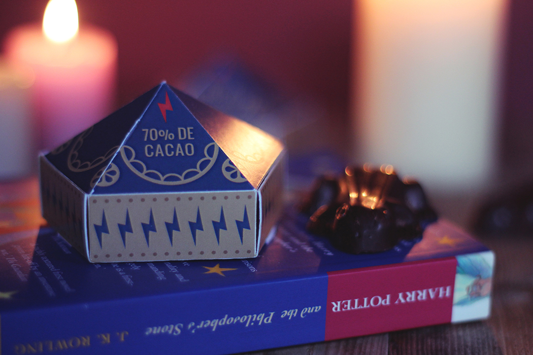 Faire des Chocogrenouilles - Chocolate frog Harry Potter - Juliette Blog féminin