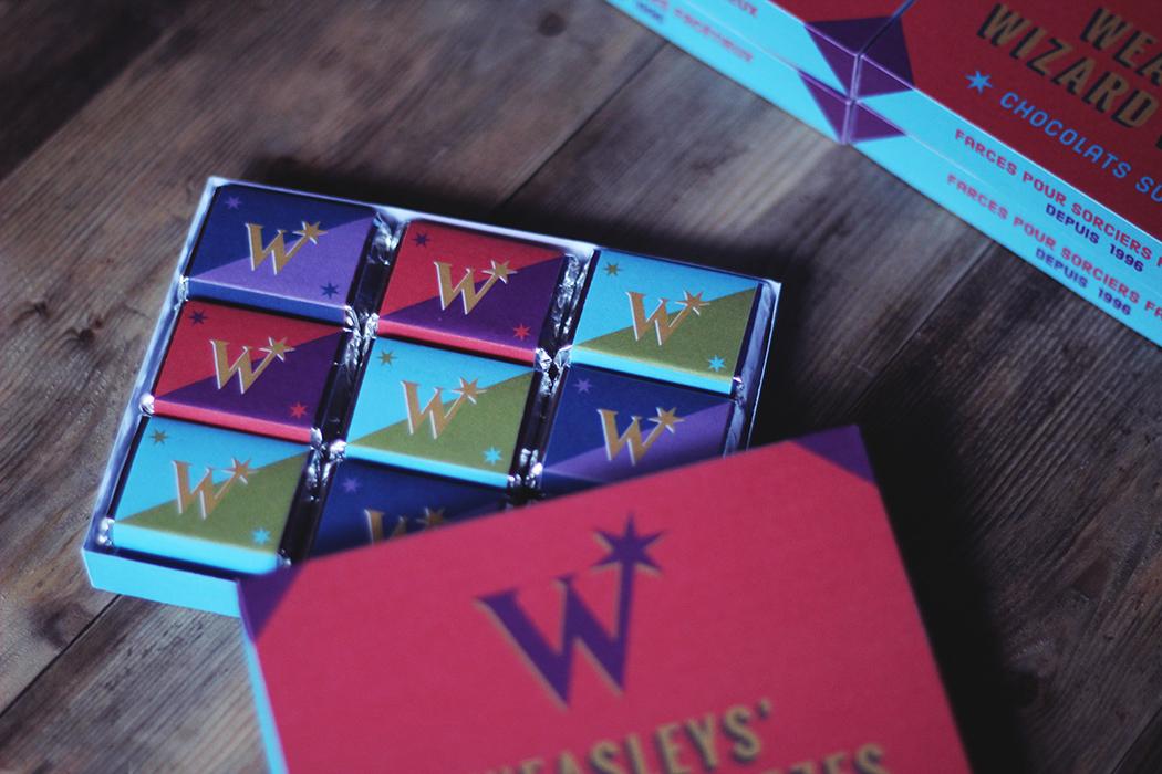 Boite de chocolats à faire soi même - Weasleys' Wizard Wheezes - Harry Potter