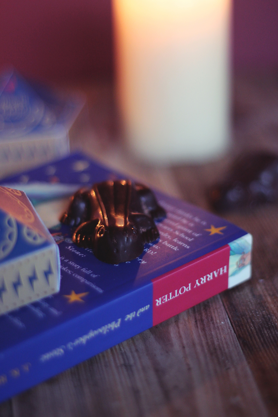 Recette Chocogrenouille - Chocolate frog Harry Potter - Juliette Blog féminin