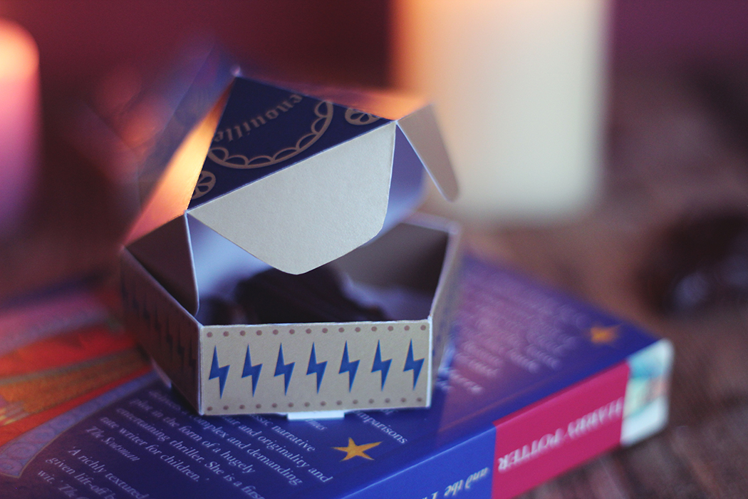 Printable Boite Chocogrenouille Harry Potter - Juliette Blog féminin