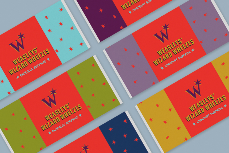 Printable Tablette de chocolat boutique Weasley - Juliette blog féminin