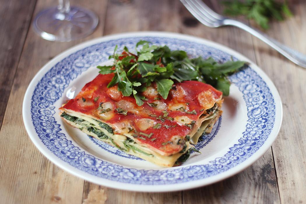 Lasagnes aux épinards et pignons de pin - Juliette blog féminin