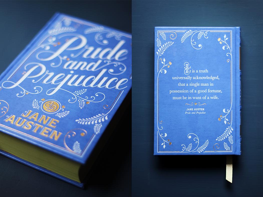 Pride and Prejudice - Barnes and Noble - Jessica Hische - Juliette blog féminin