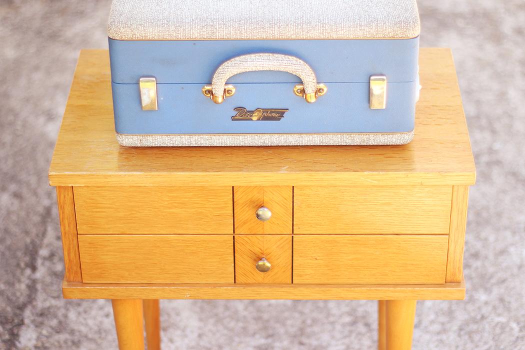 Discophone bleu Pathe Marconi - Juliette blog féminin