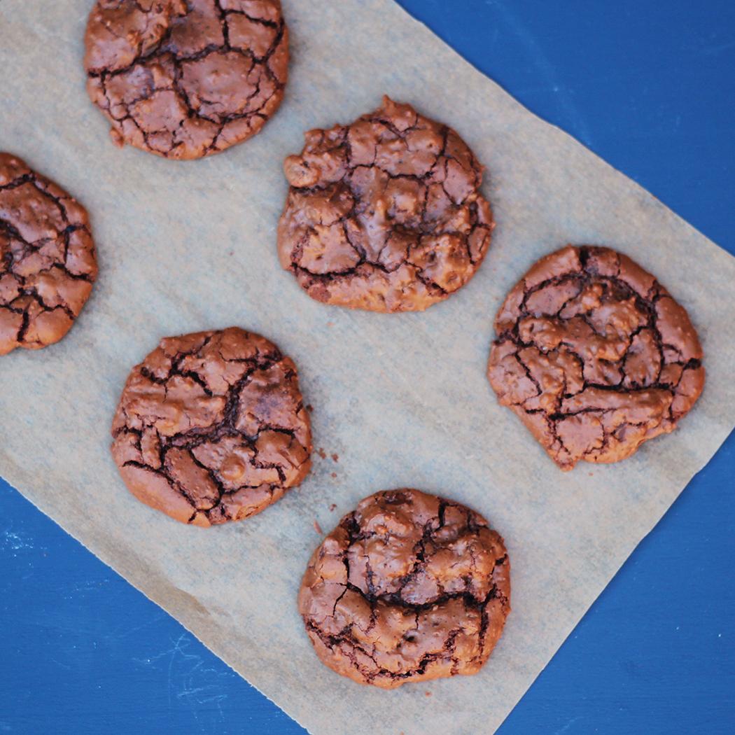 Cookies chocolat noir et noisette - Juliette blog féminin