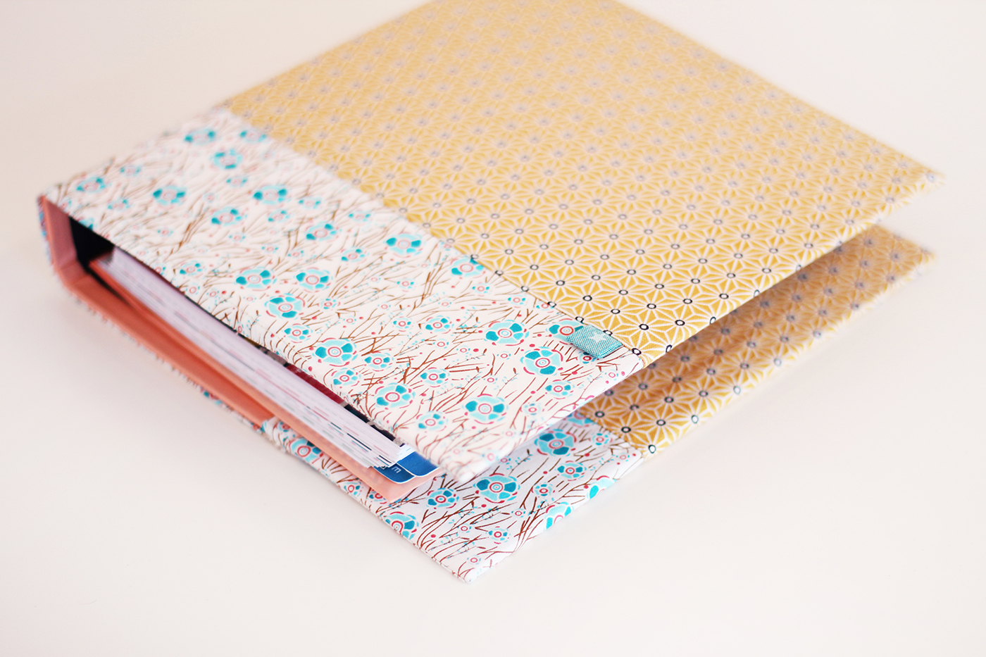 DIY couverture tissu agenda - Juliette blog féminin