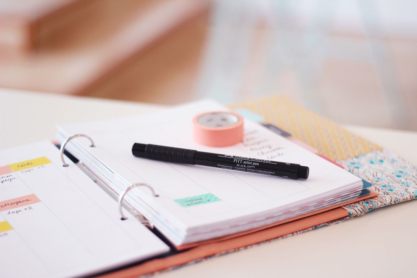 DIY planner à imprimer - Juliette blog féminin