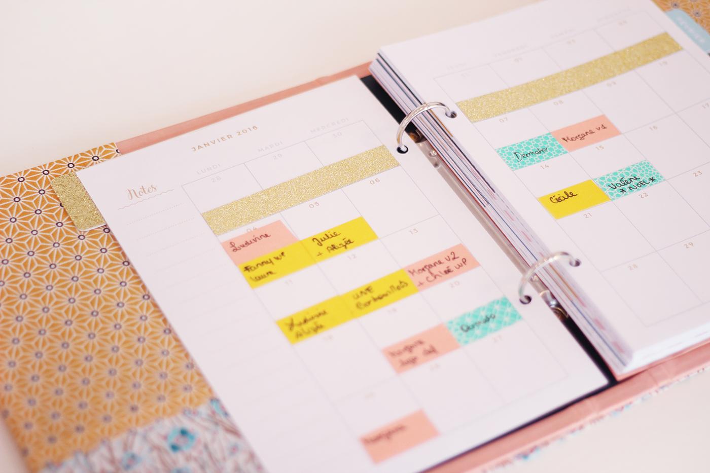 Planner mensuel à imprimer - Juliette blog féminin (1)
