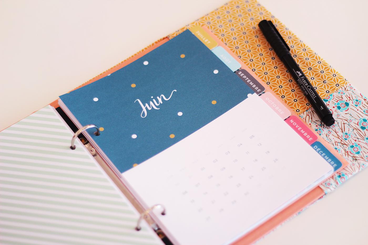 Planning mensuel à imprimer - Juliette blog féminin (2)