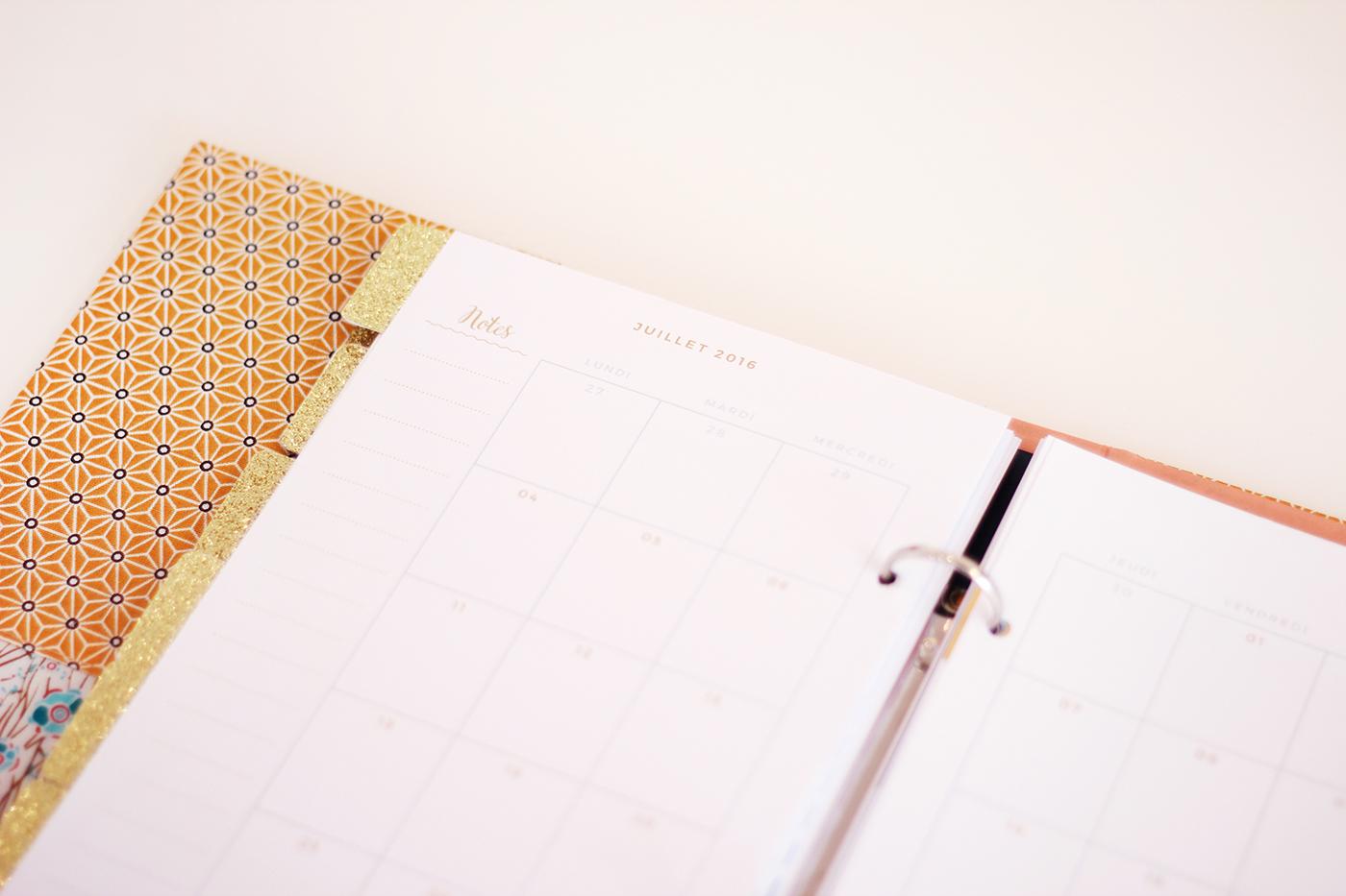 free planner printable - Juliette blog féminin