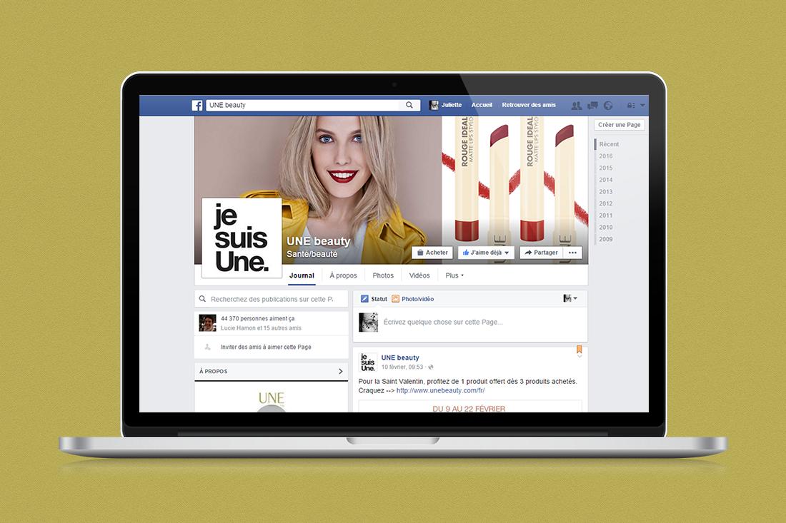 Visuels réseaux sociaux Une Beauty Juliette Lebreton
