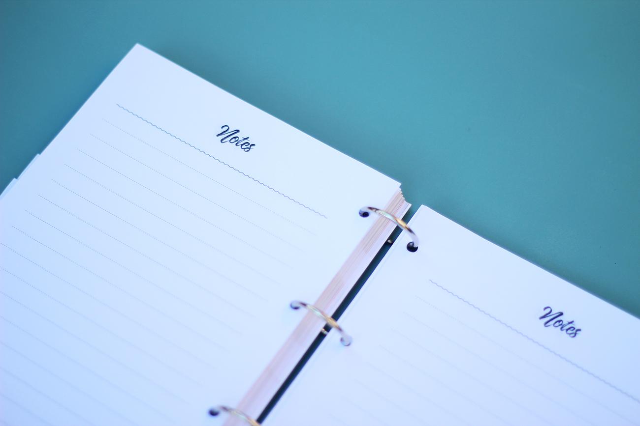 agenda 2016 2017 à imprimer pages de notes
